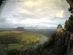 Archiv Foto Webcam Festung Königstein - Friedrichsburg 15:00