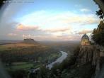 Archiv Foto Webcam Festung Königstein - Friedrichsburg 17:00
