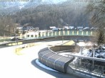 Archived image Webcam Bobsled run Koenigssee 04:00