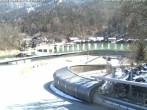 Archived image Webcam Bobsled run Koenigssee 06:00