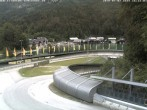 Archived image Webcam Bobsled run Koenigssee 10:00