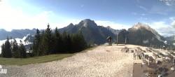 Archived image Webcam Panorama view Hirschkaser, Ramsau 02:00
