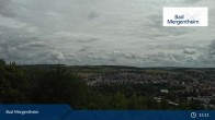 Archived image Webcam View from the Ketterberg to Bad Mergentheim 09:00