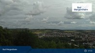 Archived image Webcam View from the Ketterberg to Bad Mergentheim 11:00