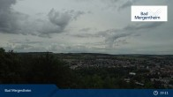 Archived image Webcam View from the Ketterberg to Bad Mergentheim 13:00