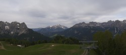 Archiv Foto Webcam Panorama Pozza di Fassa - Buffaure 02:00