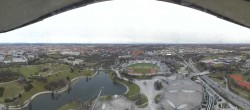 Archived image Webcam View over the Olympic Park Munich 08:00