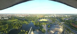 Archived image Webcam View over the Olympic Park Munich 00:00
