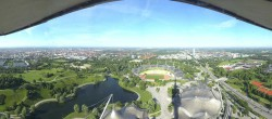 Archived image Webcam View over the Olympic Park Munich 02:00