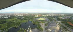 Archived image Webcam View over the Olympic Park Munich 05:00