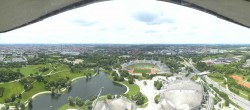 Archived image Webcam View over the Olympic Park Munich 11:00
