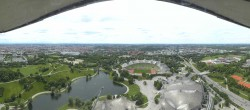 Archived image Webcam View over the Olympic Park Munich 13:00