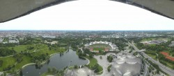 Archived image Webcam View over the Olympic Park Munich 15:00