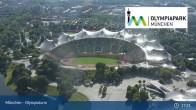 Archiv Foto Webcam München: Blick über den Olympiapark 16:00
