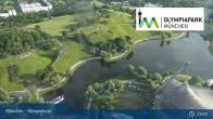 Archiv Foto Webcam München: Blick über den Olympiapark 18:00