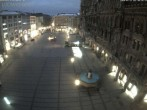 Archived image Webcam at the Marienplatz, Munich 00:00