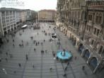 Archived image Webcam at the Marienplatz, Munich 06:00