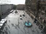 Archived image Webcam at the Marienplatz, Munich 10:00
