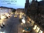 Archiv Foto Webcam am Marienplatz München 04:00