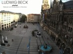 Archiv Foto Webcam am Marienplatz München 06:00