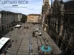 Archiv Foto Webcam am Marienplatz München 09:00