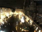 Archived image Webcam at the Marienplatz, Munich 20:00