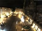 Archived image Webcam at the Marienplatz, Munich 22:00