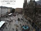 Archived image Webcam at the Marienplatz, Munich 08:00