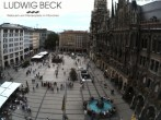 Archived image Webcam at the Marienplatz, Munich 12:00