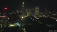 Archived image Webcam Frankfurt: View at the Skyline 18:00