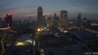 Archived image Webcam Frankfurt: View at the Skyline 00:00