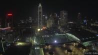 Archived image Webcam Frankfurt: View at the Skyline 20:00