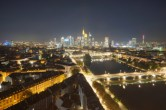 Archived image Webcam Panoramic View over to the Skyline of Frankfurt 18:00