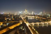 Archived image Webcam Panoramic View over to the Skyline of Frankfurt 00:00