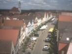 Archived image Webcam Günzburg Town Square 08:00