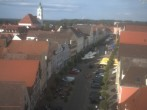 Archived image Webcam Günzburg Town Square 12:00