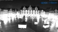 Archived image Webcam Marketplace Coburg 20:00