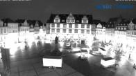 Archived image Webcam Marketplace Coburg 22:00