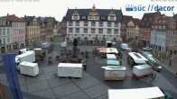 Archived image Webcam Marketplace Coburg 00:00