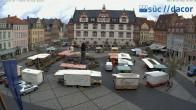 Archived image Webcam Marketplace Coburg 02:00