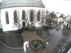 Archiv Foto Webcam Oberstdorf Markplatz 02:00