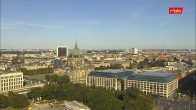 Archived image Webcam View from Rotes Rathaus, Berlin 02:00