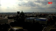 Archived image Webcam View from Rotes Rathaus, Berlin 10:00