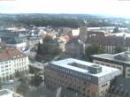 Archived image Webcam Bayreuth City Centre 08:00