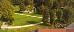 Archived image Webcam Comfort Camping Aufenfeld (swimming lake) 08:00