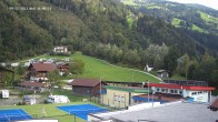 Archived image Webcam Camping Aufenfeld - View Wiesenhof 10:00