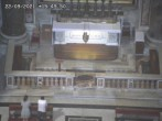 Archived image Webcam The Tomb of John Paul II (Vatican Grottoes) 10:00