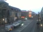 Archiv Foto Webcam Europaplatz in Karlsruhe 05:00