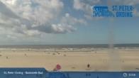 Archiv Foto Webcam St. Peter-Ording: Badestelle Bad 12:00