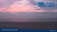 Archived image Webcam Beach Bad St. Peter-Ording 21:00
